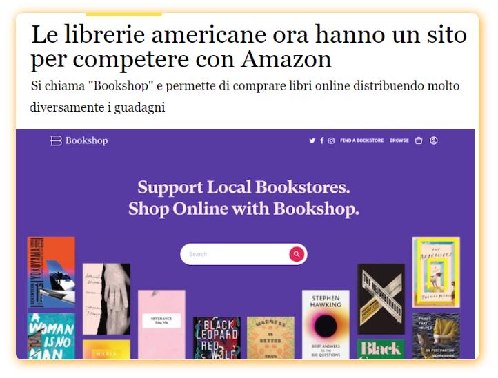 Librerie americane contro Amazon. Cosa fare col delivery in Italia 1